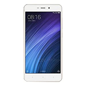 "Xiaomi Redmi 4A - Smartphone de 5"" (Quad Core 1.4 Ghz a 64-Bit, dual sim, 2 GB de RAM, memoria interna de 16 GB, Android 6.0) color oro"