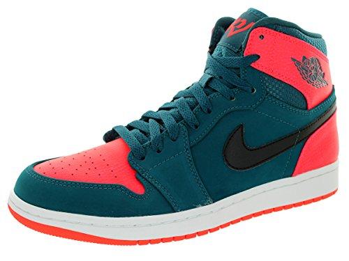 Basket Nike High Air Jordan 1 Retro High Nike 332550312 TealNoirInfraRougeBlanc 2aad31