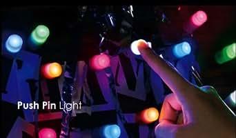 Firefly LED lot de 5 Veilleuses multicolores en Ventouse-lampe lumière décoratif sur Verre Carreau de céramique