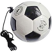 LIOOBO Palloni da Allenamento di Calcio con Corda per i Bambini Pratica di Calcio Adolescente