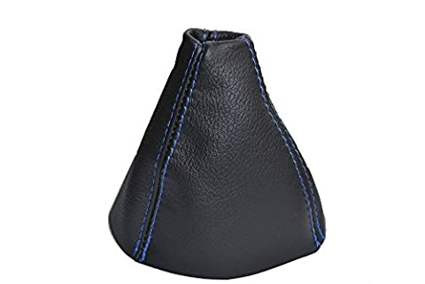 Pour Honda Civic Type S MK8FK22005–2011Gear Guêtres Noir en Cuir Bleu Coutures