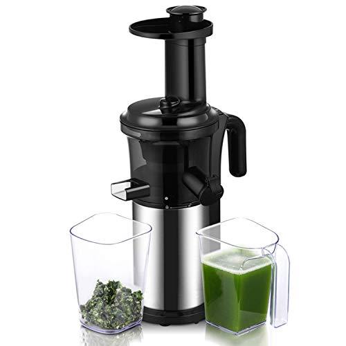 Anlong Licuadora para Frutas y Verduras de Prensado en Frío, Extractor de Zumo, Sin BPA, 40 RPM, 200W...