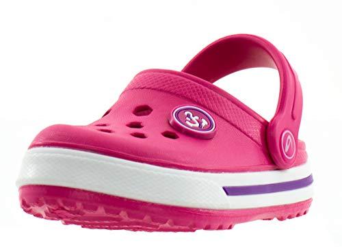 Beppi Mädchen Clogs - Pinke Kinderschuhe für Mädchen Pink Gr. 33 - Deutschland-kuchen