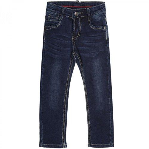 Baby Kinder Jeans Hose Röhre Straight Fit Skinny Sommer Stretch Bootcut 20551, Farbe:Blau;Größe:12 M (Jungen Jeans Größe 12)
