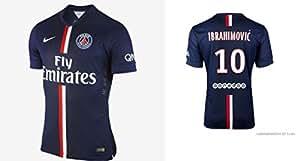 Maillot PSG Ibrahimovic 2014-2015 taille M