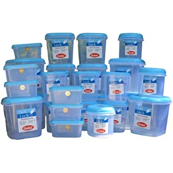 this item chetan softlock 27 pc set plastic kitchen storage airtight containers