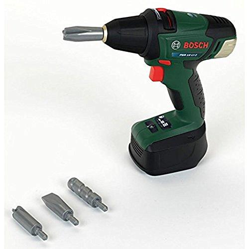 Bosch - Atornillador de acumuladores de juguete (Theo Klein 8567)