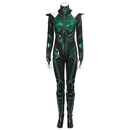 Halloween Erwachsene Marvel Anti-Remy Hella Todesgöttin Cosplay Kostüm Kleidung (Weiblichen Superhelden Kostüm Babys)