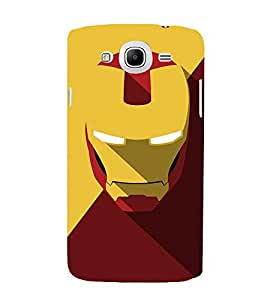 Takkloo warrior ( super hero, yellow mask, man with super power, iron mask) Printed Designer Back Case Cover for Samsung Galaxy Mega 5.8 I9150 :: Samsung Galaxy Mega Duos 5.8 I9152
