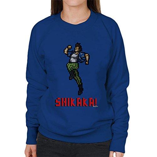 Ace Ventura Shikaka Pixellated Women's Sweatshirt
