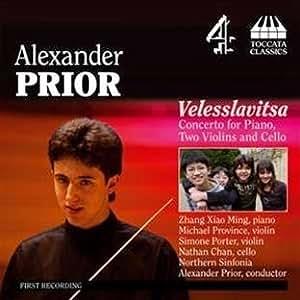 Alexander Prior  Velesslavitsa Concerto for piano, two violins and cello The World's Greatest Musical Prodigies