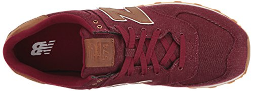 New Balance Ml574txd, Sneakers basses homme Red (Red)