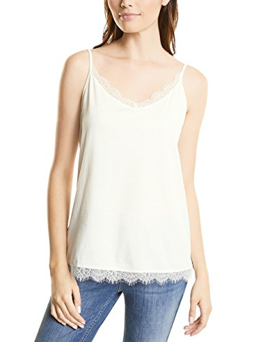 Street One Damen Top Weiß (Off White 10108)