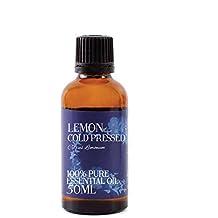 Mystic Moments Huile essentielle de citron presséà froid - 50ml - 100% pure