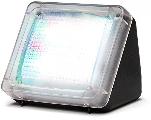 Movoja® Fernsehsimulator | LED-TV-Simulator | Einbruchschutz / Lichtsimulation | Mini-Fake-TV Fake-Fernseher | Fernsehlicht-Imitation | Attrappe gegen Einbrecher mit Lichtsensor und Timer