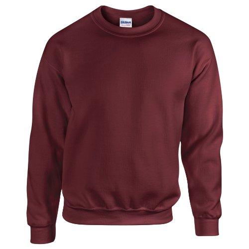 Gildan Herren Sweatshirt Heavy Blend 18000 Maroon L -