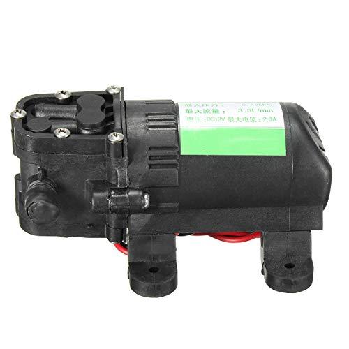 Elektrische Tauchpumpe 12V DC 12.5cm Caravan Marine Wasserpumpe for Wohnmobile für Schwimmbäder, überflutete Keller, große Teiche