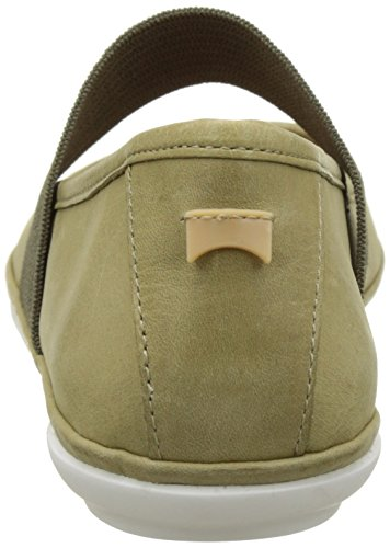 Camper Right Nina, Ballerine Donna Beige (Medium Beige 102)