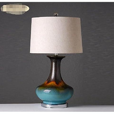 llevado ahorro de energía, Europeo,,, cerámica, lámparas, decoración creativa simple moderno,