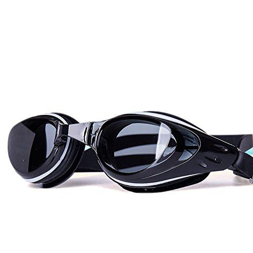 Swimming goggles Gafas de natación para Hombres y Mujeres, Dispositivo antivaho de galvanoplastia de Alta definición, Equipo de Buceo a Prueba de Agua para Adultos