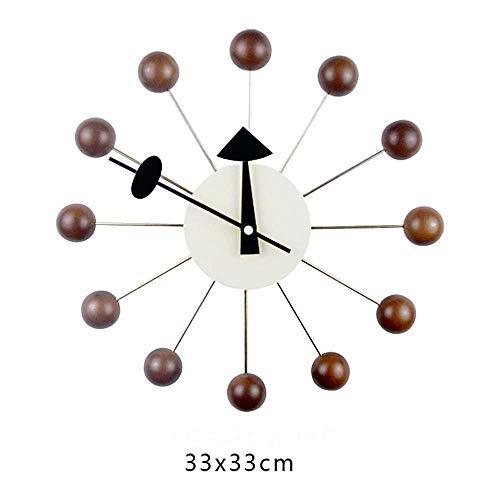 DXL-Home Decoration Heimtextilien Nordic Candy Wanduhr Designeruhr Wohnzimmer Esszimmer Schlafzimmer Stumm Kreative Uhr