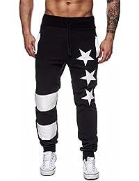 ❉❉Homme Pantalons De Jogging Loisirs Pantalons De Sport Leggings Sport  Leggings De Compression Pantalons b48f13fe0627