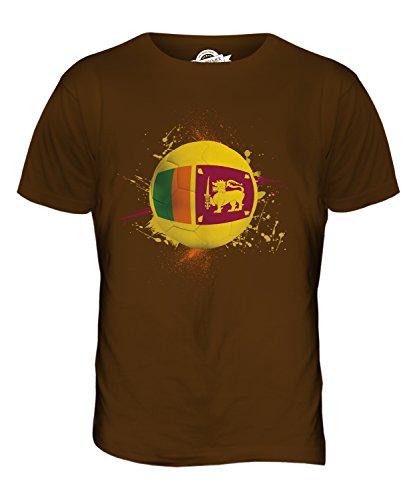 CandyMix Sri Lanka Fußball Herren T Shirt Braun