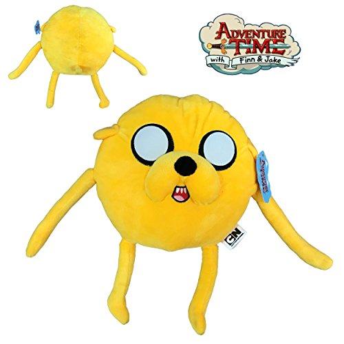 Adventure time - Plüsch Abenteuer Jake (gelb) 30cm/23cm gute qualität - Abenteuer Jake