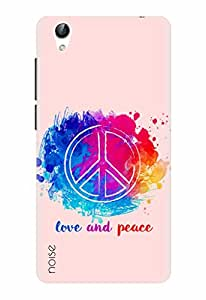 Noise Designer Printed Case / Cover for Vivo Y51L / Quotes/Messages / Peace Out