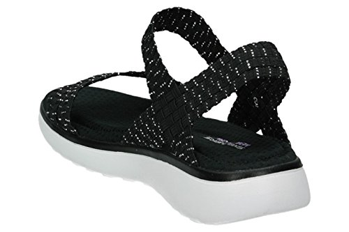 Skechers Counterpart Breeze Wraped schwarz Damen Sandalen