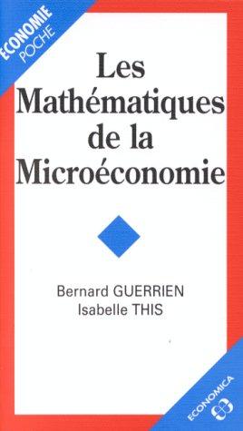 Les mathmatiques de la microconomie