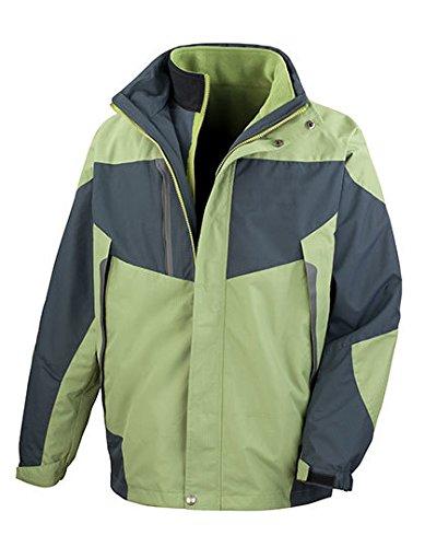 Result: 3-in-1 Aspen Jacket R199X, Größe:2XL;Farbe:Aspen Green/Grey - Aspen Green