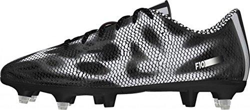 adidas F10 SG Mens Football Boots (Core Black-Silver) Black