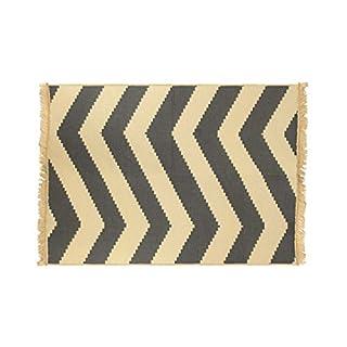 Asir Group LLC Ya Rug, Zigzag, grey, 60 x 90 cm