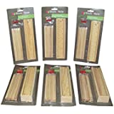 Parteet Birthday Party Return Gifts Wooden School Supply Kit Set For Kids (Pack Of 6)