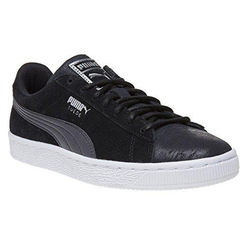 Puma Suede Classic Donna Sneaker Nero BLACK METALLIC