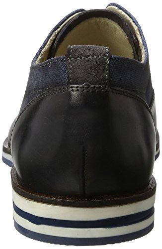 LLOYD Herren Denton Derby Blau (MIDNIGHT/JEANS/GREY)