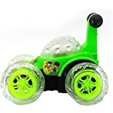 HARLLYCTION Rechargeable BEN 10 Stunt Car With Remote Control