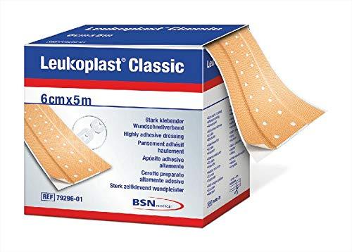 Leukoplast Classic Pflaster Meterware 5 m x 6 cm Rolle,1St