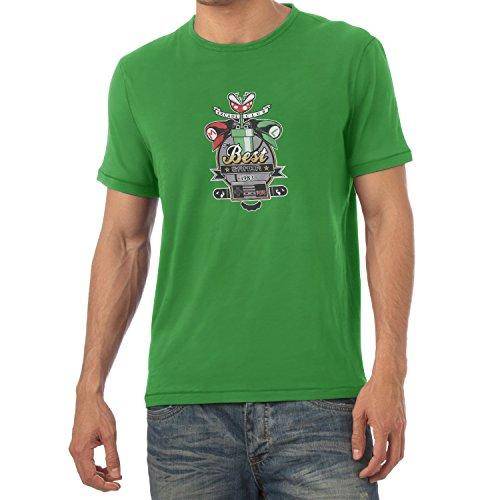 Preisvergleich Produktbild Texlab The Best Gamer - Herren T-Shirt,  Größe S,  Grün
