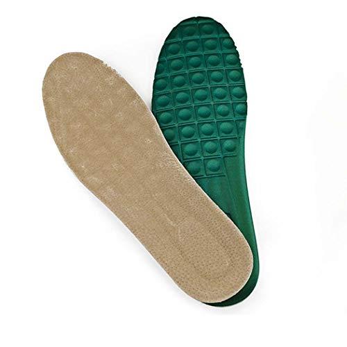Green Deodorant (MISS&YG Dicke Leder-lässige Einlage Haibo Li schweißabsorbierende atmungsaktive Deodorants Männer und Frauen Lederstoßdämpfer-Einlagen,Green,45~46yards)