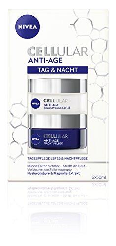 Nivea Cellular Anti-Age Tag & Nacht Pflege-Set, 2er Pack (2 x 50 ml)