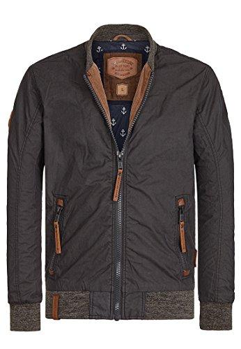 Naketano Male Jacket Der Bumser Black