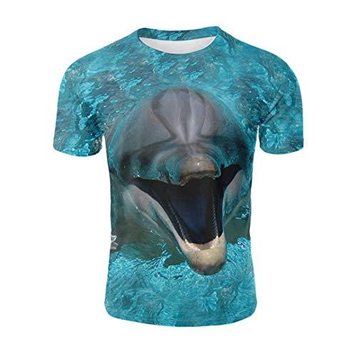 Spielen Sie die Gitarre Schwein 3D gedruckt T-Shirt Neuheit Tier T-Shirt Männer Harajuku Sommer Tops lustige kreative Kurzarm 3238W XXL