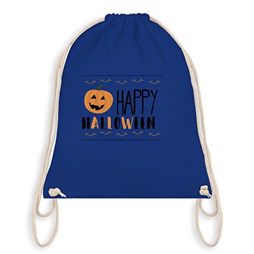 Halloween - Happy Halloween - Turnbeutel I Gym Bag Royalblau