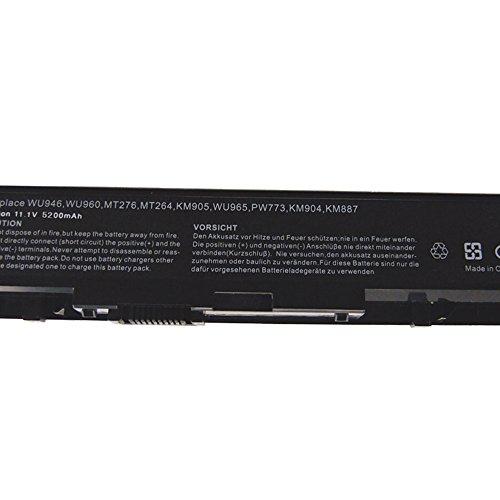 Exxact Parts Solutions Replacement Laptop Battery for HP Pavilion DV6000 DV2000 DV6500 HSTNN-LB42 446506-001 HSTNN-DB42 HSTNN-LB31 436281-321 Notebook Battery Li-ion 10.8V 5200mah 6 Cell