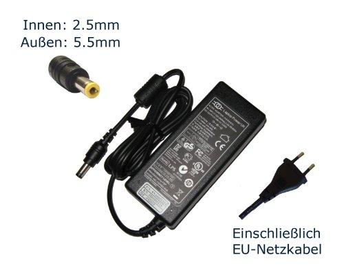 """Preisvergleich Produktbild Netzteil für Medion Akoya E1222 E1311 E7214 S3211 S5612 E1210 E1221 E442 Notebook Laptop Ladegerät Aufladegerät,  Charger,  AC Adapter,  Stromversorgung kompatibles Ersatz (12 Monate Garantie,  einschließlich kostenlosem EU-Netzkabel) - """"Laptop Power"""" gebrandmarkt"""