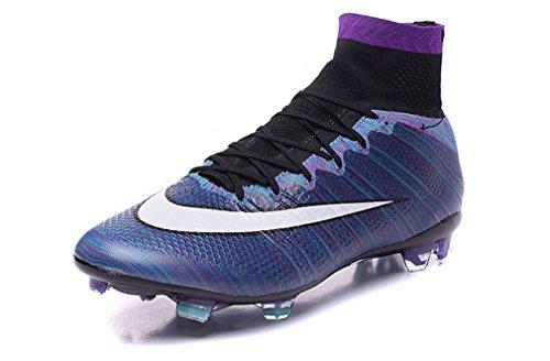 Herren Mercurial X Superfly FG mit ACC Rainbow High Top Fußball Schuhe Fußball Stiefel, Herren, regenbogenfarben, UK8/EUR42 (Fußball Nike Stiefel Herren)