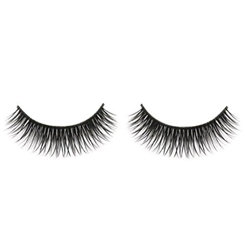 Ularma Naturel Beauté Dense une paire Faux Cils Noir Long Épaisse Mous Réutilisables Faux Cils pour Maquillage Cosmétique