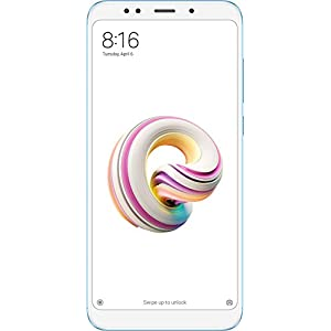 "Xiaomi Redmi 5 Plus - Smartphone de 5.99"" Full HD (14 NM Snapdragon Octa-Core, 64 GB, Android) Color Azul [Versión Española]"